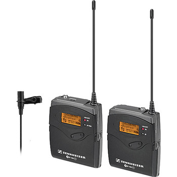 Rent Sennheiser G3 Wireless Lavalier Mics (x2)