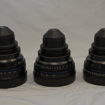 Rent Zeiss CP.2 Lens Kit - 35mm, 50mm, 85mm