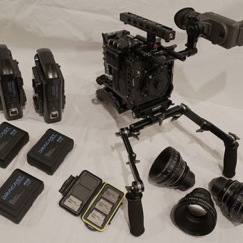 Rent Zeiss CP.2 Lens Kit - 35mm, 50mm, 85mm