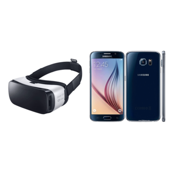 Rent Samsung VR Viewing Kit 1: S6 Galaxy Phone, Gear VR Headset