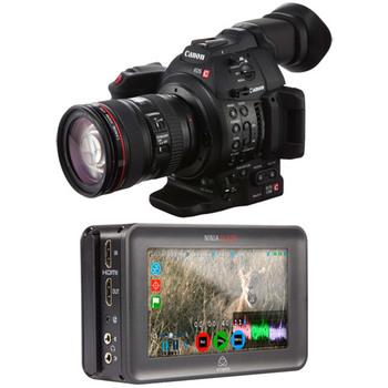 Rent Canon C100 w/ Atomos Blade