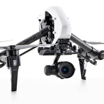 Rent DJI Inspire 1 Pro with X5 camera. Four batteries, two remotes