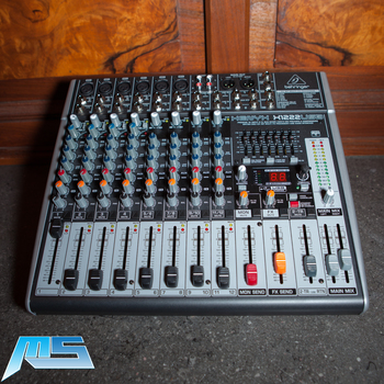 Rent Behringer XENYX X1222USB - 16-Input USB Audio Mixer with Effects