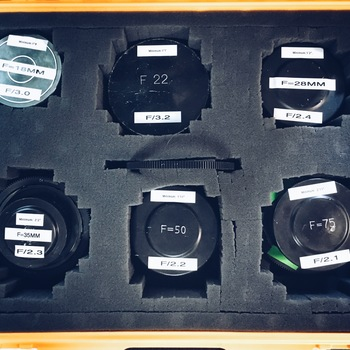 Rent Lomo Spherical. Standard Speed Set of 6 Lenses w/ OCT19 Mount and Hard Case
