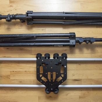 Rent Glide Gear Heavy Duty Slider Rail + Sturdy Aluminum Supports