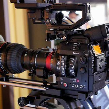 Rent Canon C300 Mark II base/cine kit