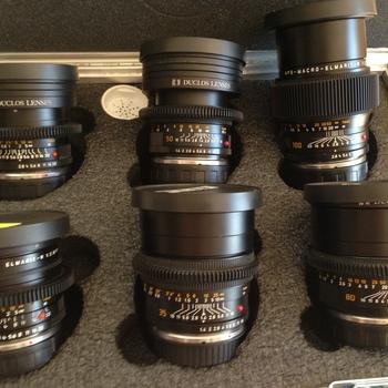 Rent Leica R Duclos Prime Lens Kit