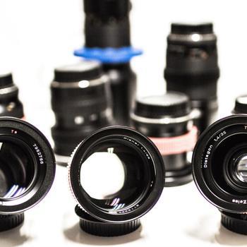 Rent Zeiss Contax EF mount Cine Lens kit.