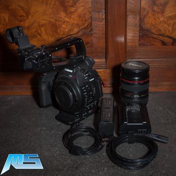 Rent Canon C100 Single EF Lens Kit