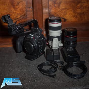 Rent Canon C100 Dual EF Lens Kit