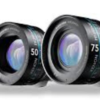 Rent 5 set of Schneider Xenon FF prime lenses, EF mount
