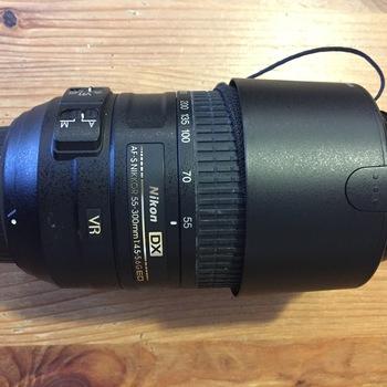 Rent Nikon AF-S Nikkor 55-300mm DX f/4.5-5.6 G ED VR Lens