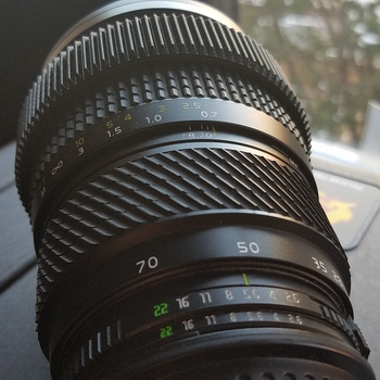 Rent Tokina 28-70 F2.6-2.8 (Angenieux model), EF or Nikon Mount