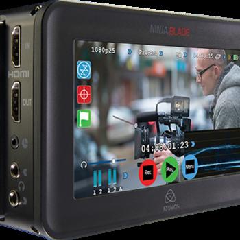 """Rent Atomos Ninja Blade """"5 Camera Monitor & External Recorder with 2 SSD Drives (500GB)"""