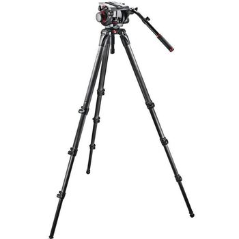 Rent Manfrotto 536 Carbon Fiber Tripod w/ 509HD Head