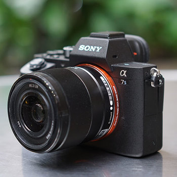 Rent Mint Condition A7s Mark II--Lightweight Low-light, Full-Frame, High Frame Rate, 4K, Internal Image Stabilization