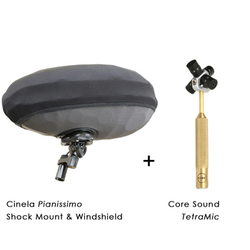 Rent Core Sound TetraMic Kit for Ambisonic (VR / 360º) Recording (ADVANCED MIC KIT)