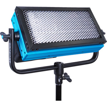"Rent Dracast LED500 Pro Bi-Color , 3,200-5,600K Variable Color Temperature Works with V-Mount Batteries 12 x 6 x 2"" Panel, Weighs 4 lb 45-Degree Beam Angle"