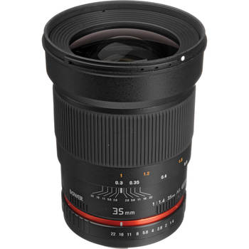 Rent 35mm lens for Canon