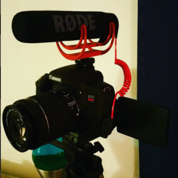 Rent Canon Rebel T6i w/Rode Video Mic + 18-55mm IS Lens