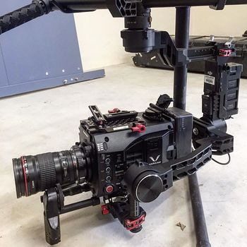Rent DJI Ronin Kit For Full Size Cameras + Thumb Controller