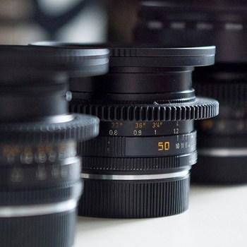 Rent 6 Lens Leica-R Set