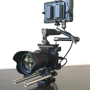 Rent Sony A7SII Package with Lenses, Monitor, and Tripod