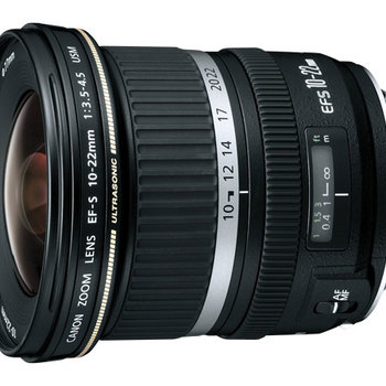 Rent Wide Angle Canon EFS 10-22mm (3.5 - 4.5)