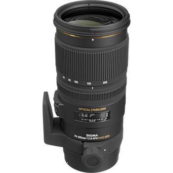 Rent Sigma 70-200 f/2.8 EX APO DG HSM OS (Canon EF Mount)