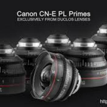 Rent Canon Cinema Art lens set with PL/EF mount