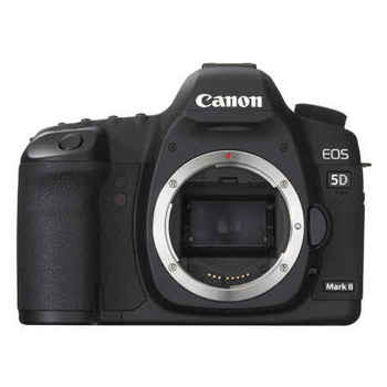Rent Canon EOS 5D Mark II 21.1 MP Digital SLR Camera - Black - Body Only