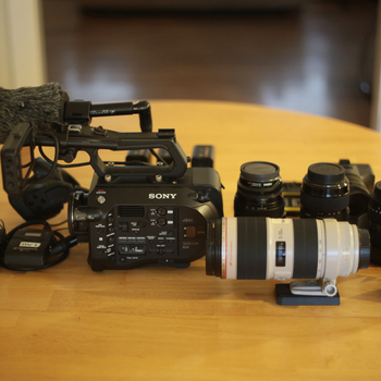 Rent Sony PXW-FS7 complete documentary package