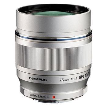 Rent Olympus 75mm f1.8, silver
