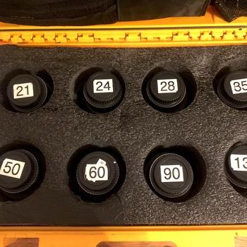 Rent Leica R Primes Set of 8 in EF or Nikon F