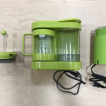 Rent Bodum Bistro Electric French Press and Coffee Grinder Kit