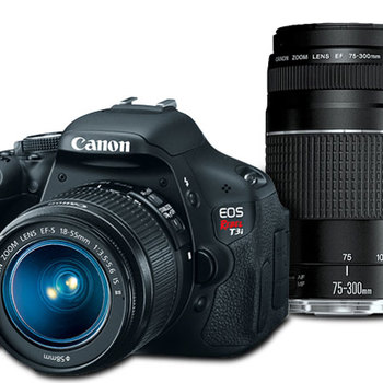 Rent Canon Rebel T3i with 3 lenses and a spare battery