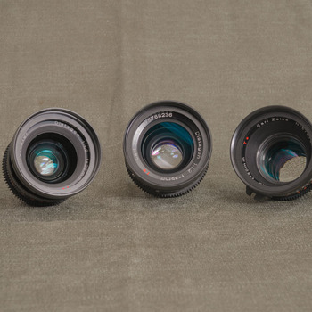 Rent Zeiss B-Speed PL-Mount 5-Lens Set