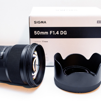 Rent Sigma 50mm f/1.4 ART Series for EF Canon Mount