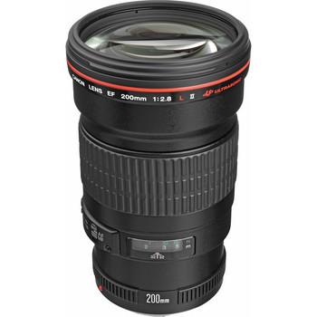 Rent Canon EF 200mm f/2.8L II USM Lens