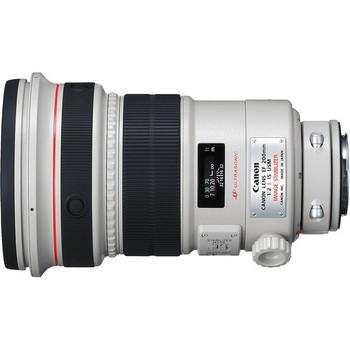 Rent Canon EF 200mm f/2L IS USM Lens