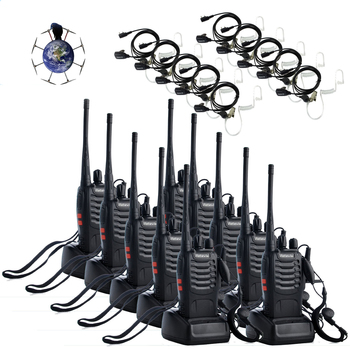 Rent Set of 20 Walkie Talkies with Ear buds for film production sets