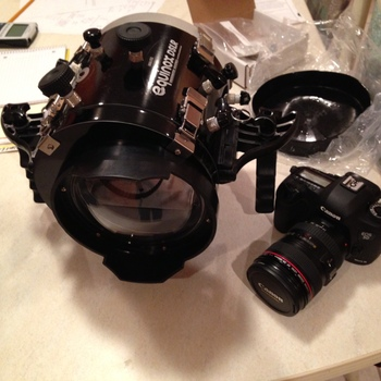 Rent Underwater housing for Canon 5d MKiii.