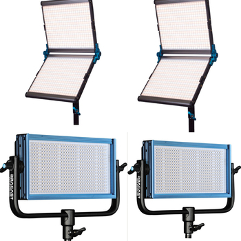 Rent 4 Dracast Light Kit (2x 1000 watt silver, 2x 500 watt)