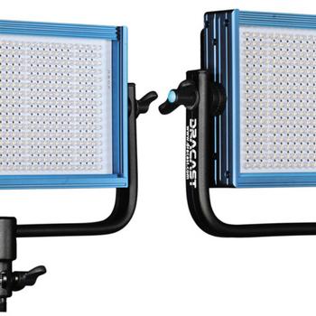 Rent 2x Dracast LED 500 Pro Bi-Color LED Light w/ Barn Doors