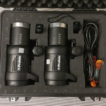 Rent Profoto D1 Air 500 w/s Monolight Kit (2 Monolights) + Accesories