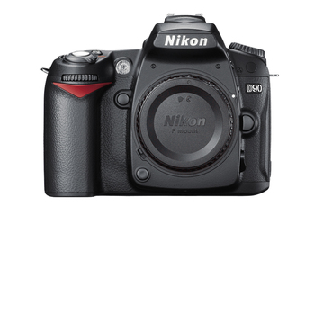 Rent Nikon D90 12.3MP DX-Format CMOS DSLR Camera Body