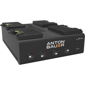 Rent 4 PAGlink Gold Mount Batteries | Anton Bauer LP 4 Charger