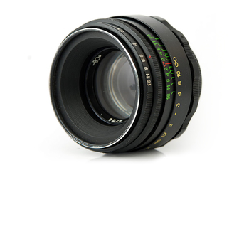 Rent Zenit Helios 44-2 58mm f/2 Prime Lens M42 Mount w/Nikon F Adapter (USSR/Jupiter Factory 1982)