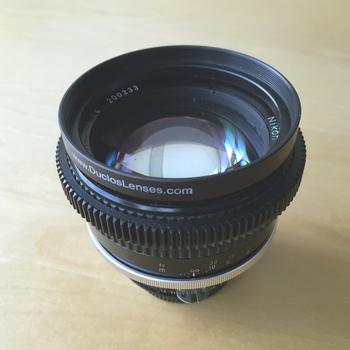 Rent Nikon 85mm f/1.4 Nikkor AI-S Manual