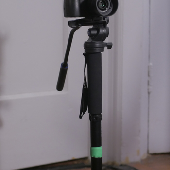 Rent GH4 Kit w/ 25mm 1.7, Benro Monopod, Rode Videomic Pro